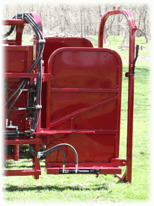 Hyd Rear Door Icon for Hoof Trimming Chute
